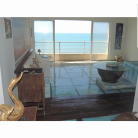 An apartment sale at discounted price on the Caribbean coast.